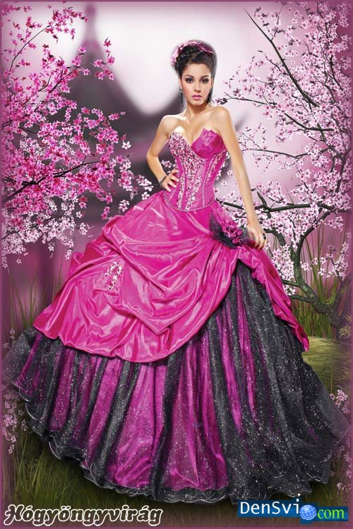 Как сделать платье красивей и пышней