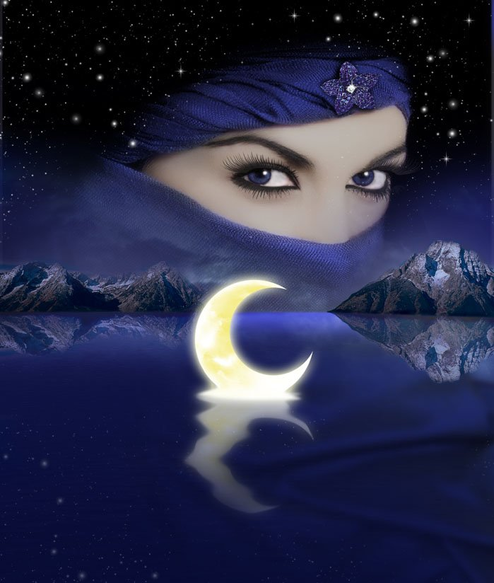 Арабские картинки доброй ночи