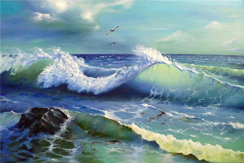 Художники рисующие море
