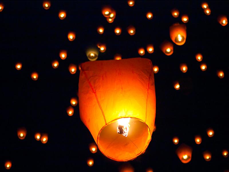 Нeбесный китайский фонарик, небесный фонарик, запуск фонарика, китайский фо