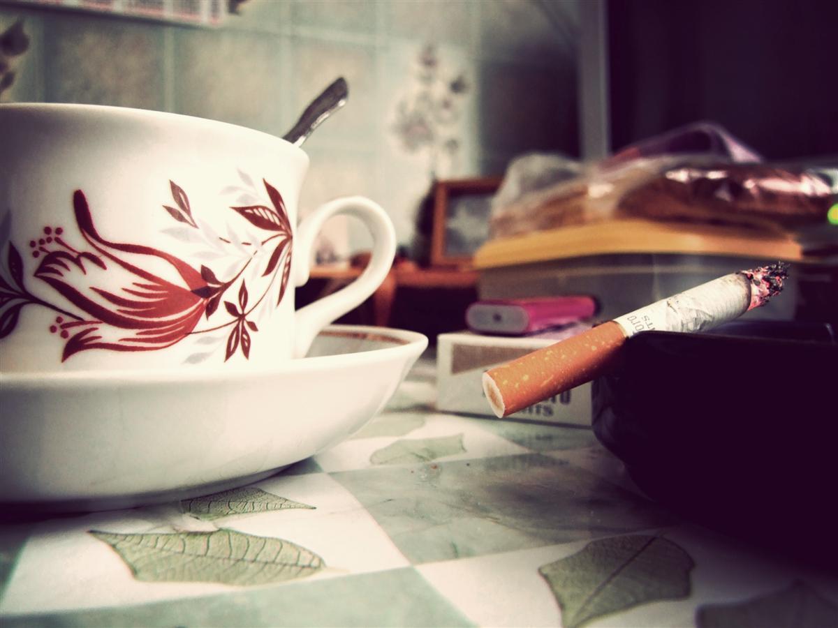 Две, картинки кофе с сигаретой со словами