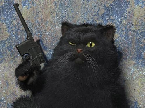 Мастер и маргарита кот картинки