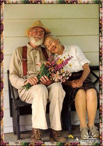 фото старики вдвоем