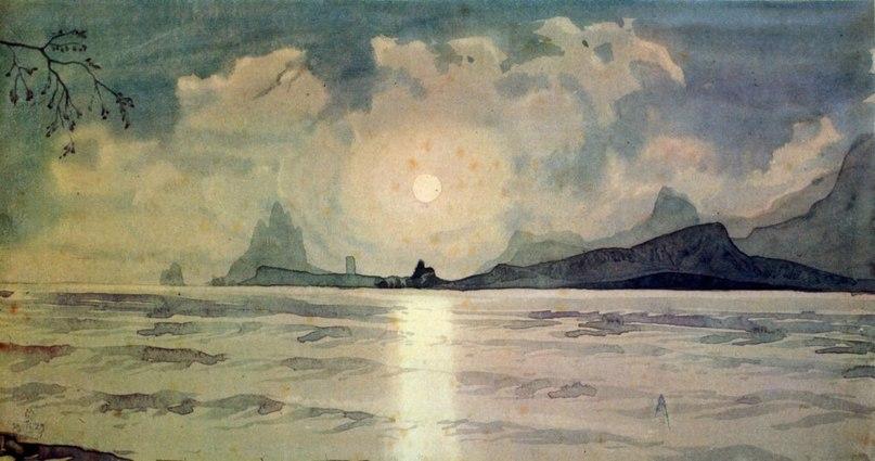 Певец пустынной Киммерии. Максимилиан Волошин ((Анна Акчурина 1359