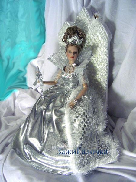 Как сделать трон снежной королевы