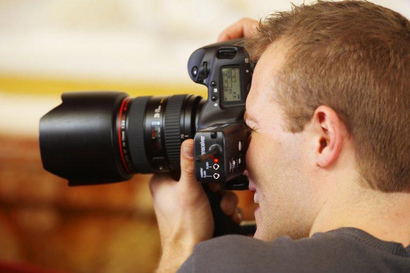Как сделать фото с профессионального фотоаппарата 105