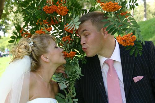 Рябиновая свадьба поздравление