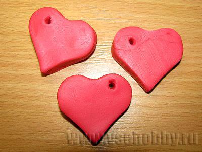 Как сделать своими руками сердце из пластилина 21