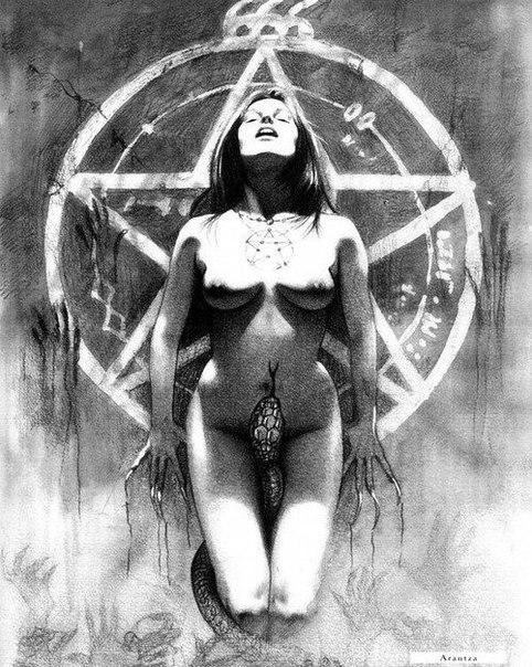 Секс ведьмы и сатаны