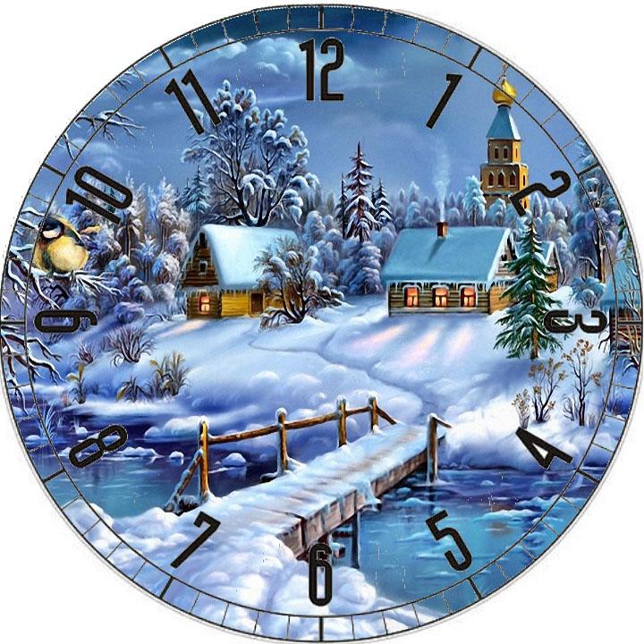 все рождественские картинки на часы скромные