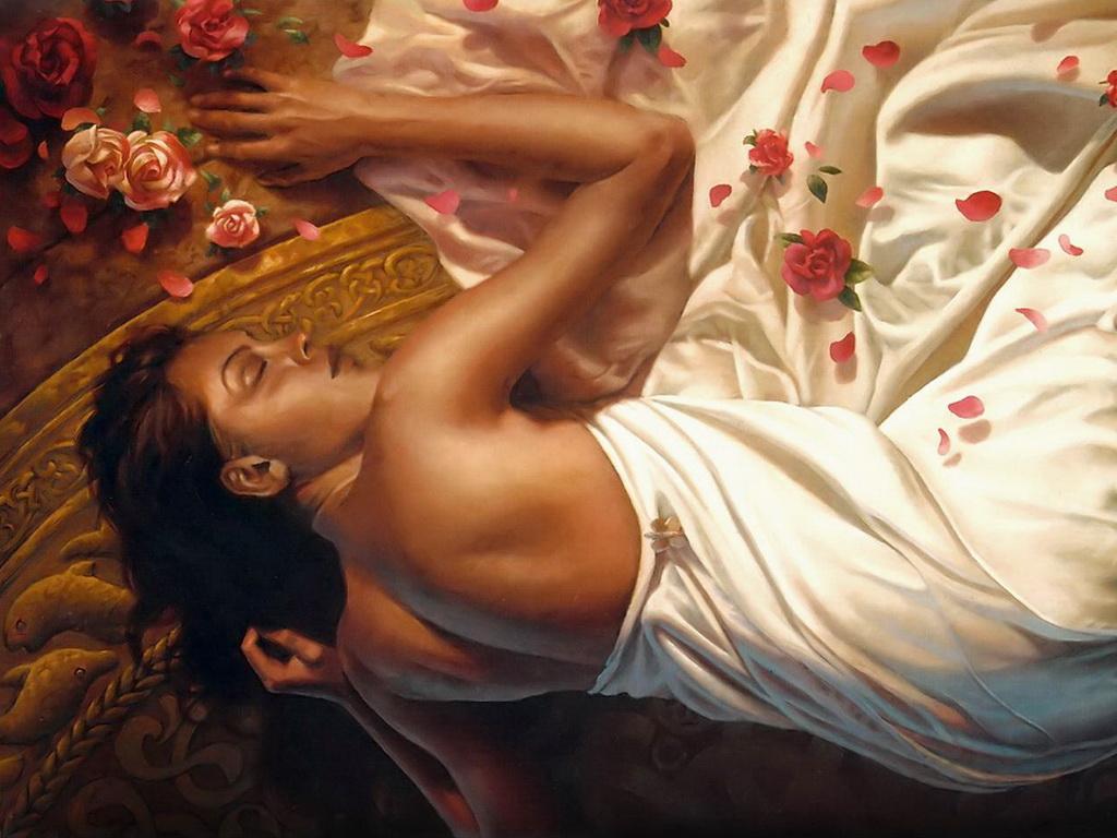 Во сне видеть себя беременной и с розой