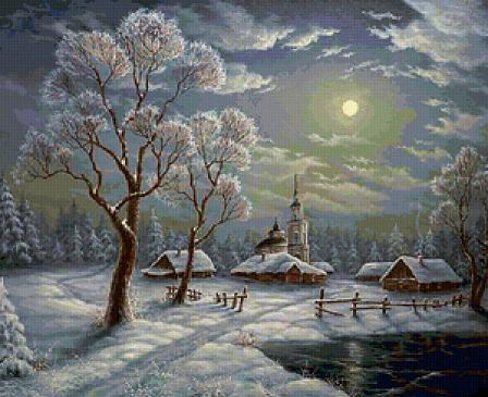 Презентация по теме: аспушкин зимний вечер