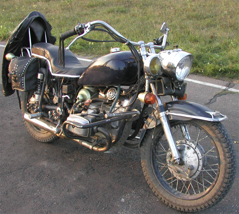 Тюнинг на мотоцикл урал