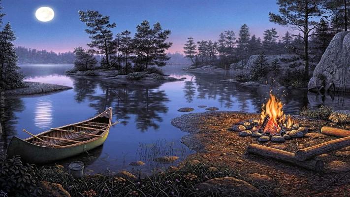 сочинение путешествие на лодке по реке