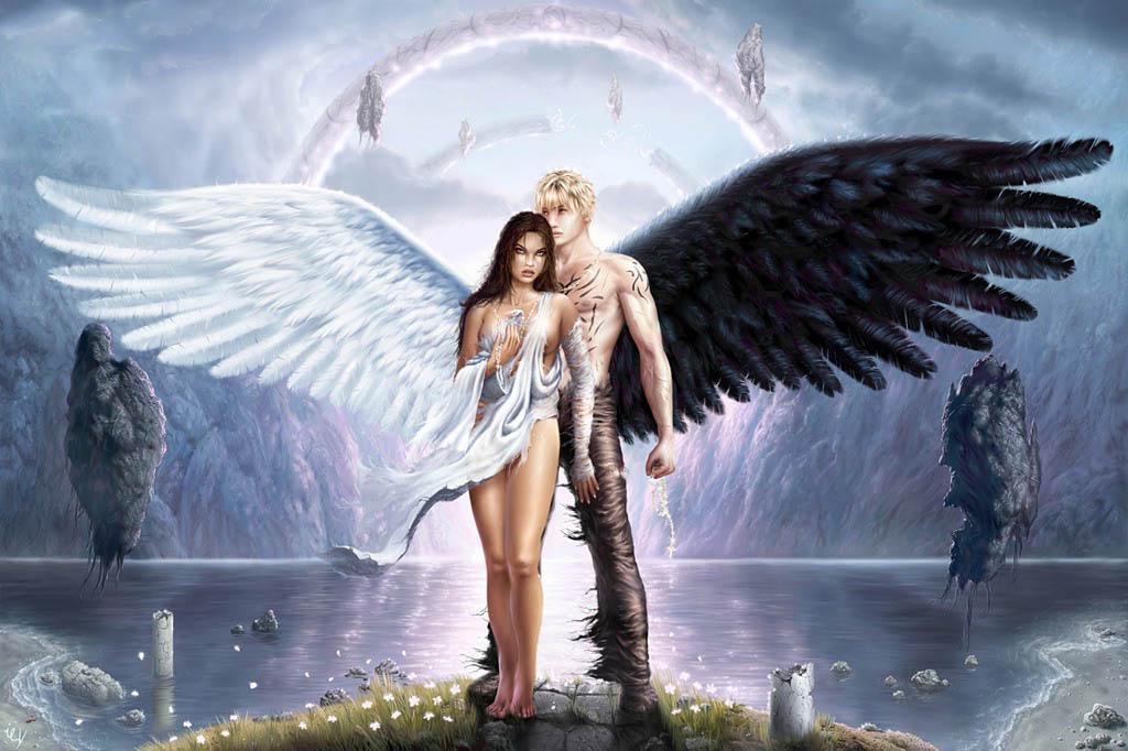 Любовь двух ангелов. Легенда в стихах 10205