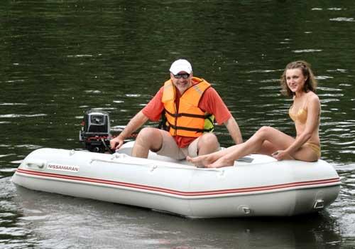 лучшая надувная лодка без мотора