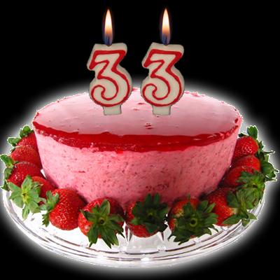 33 года день рождения открытки 42