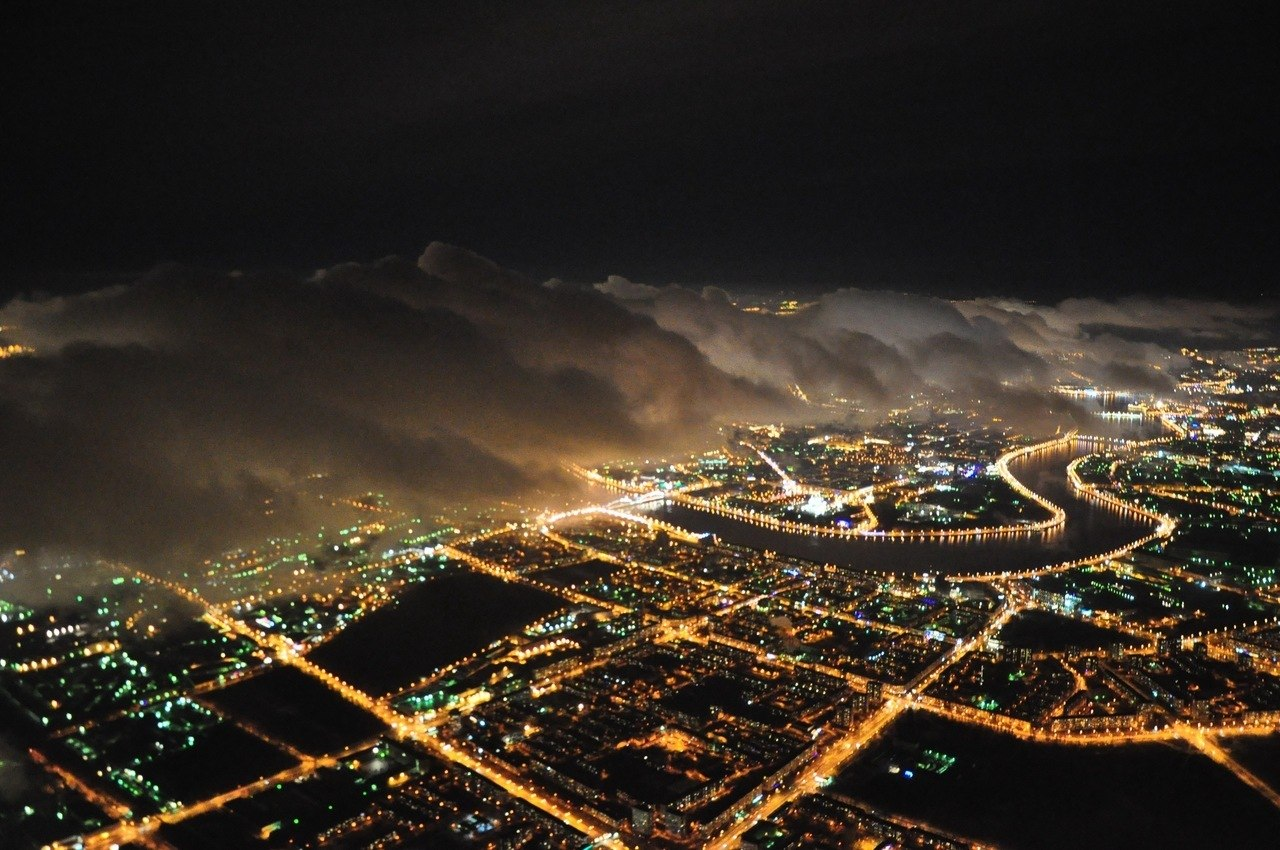 петербург ночной фото
