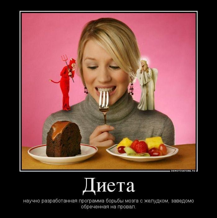 Демотиватор Про Похудения.