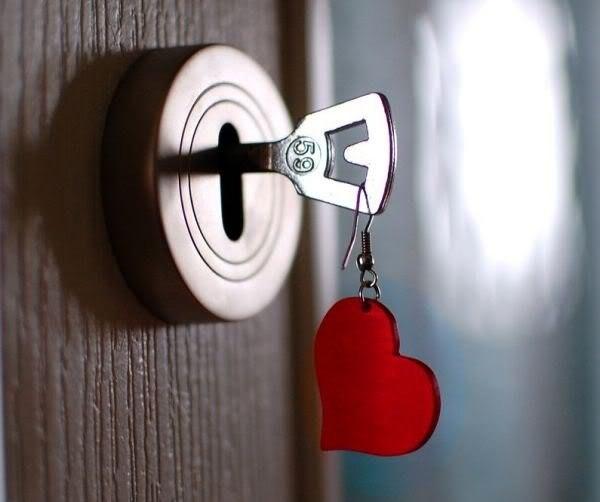 В сердце ты мое откроешь дверь