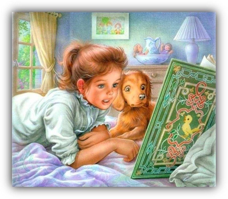 Того, картинка анимашка книга сказок