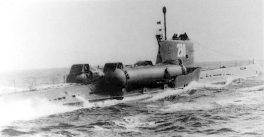 подводная лодка с 80 призрак
