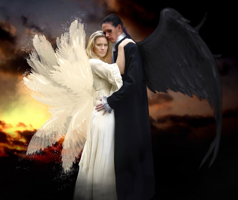 Ангел или демон красивые картинки