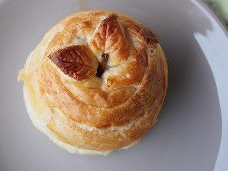 Рецепт печеные яблоки в тесте