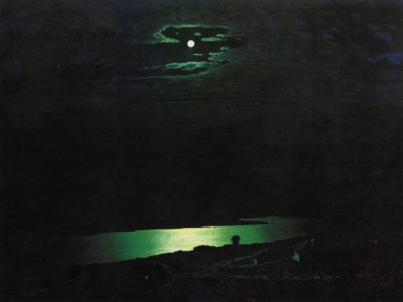 лунная ночь на днепре куинджи фото