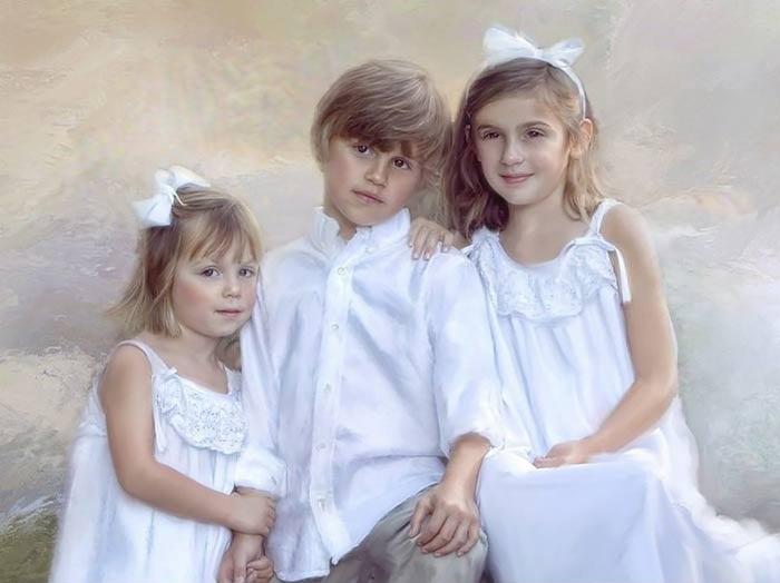 брат две сестру