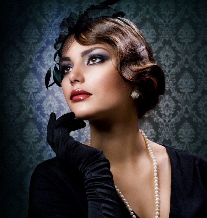 Фото макияжа в стиле 40-х годов