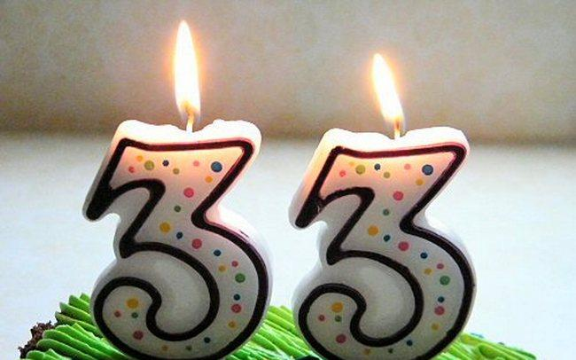 Поздравление с днем рождения мужчине с 33 летием