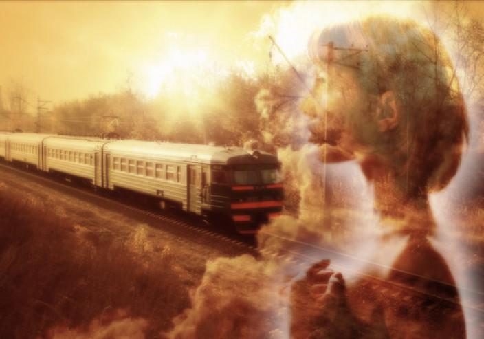 Я уезжаю поезд дал гудок стихи ру
