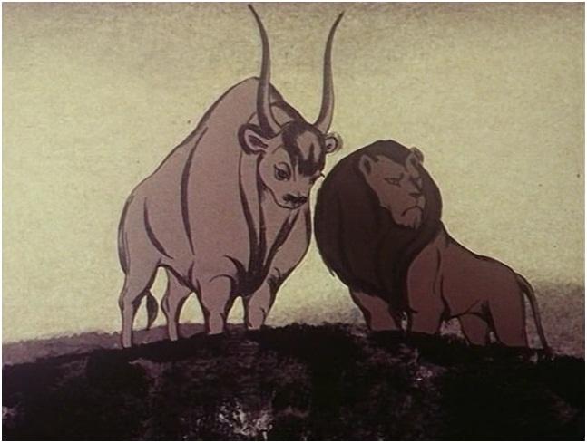Отношения кота и быка