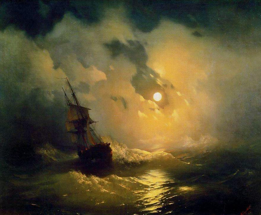 Русский художник писавший море