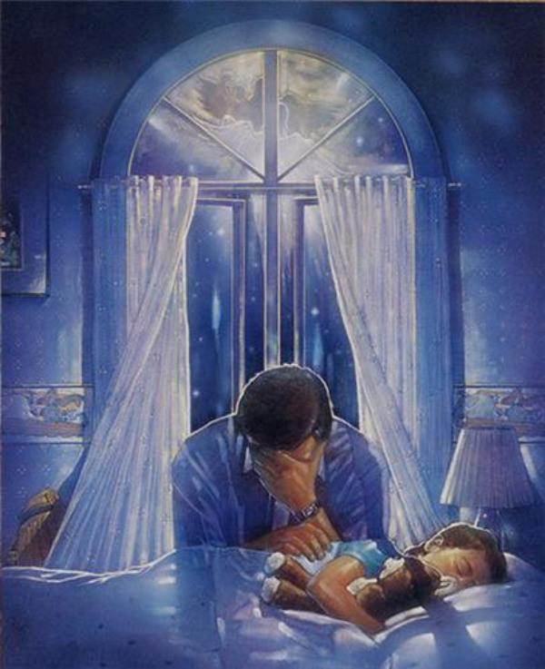 Молитесь дети за своими руками