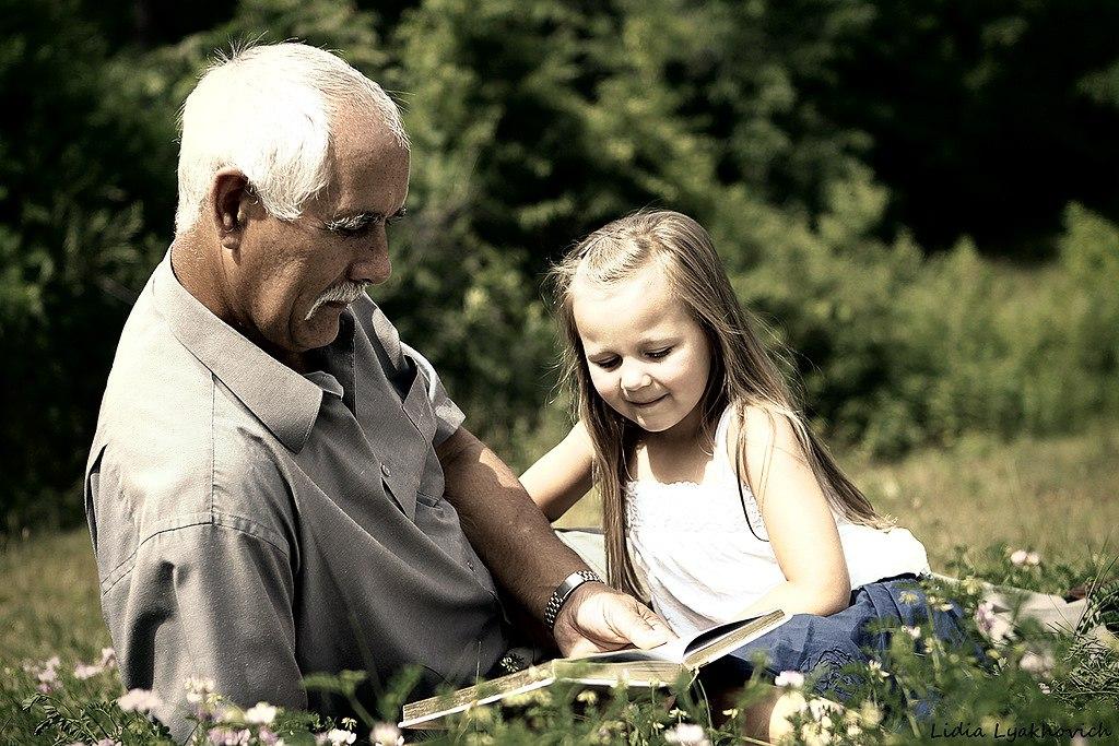 Фото дед и внучка 68480 фотография