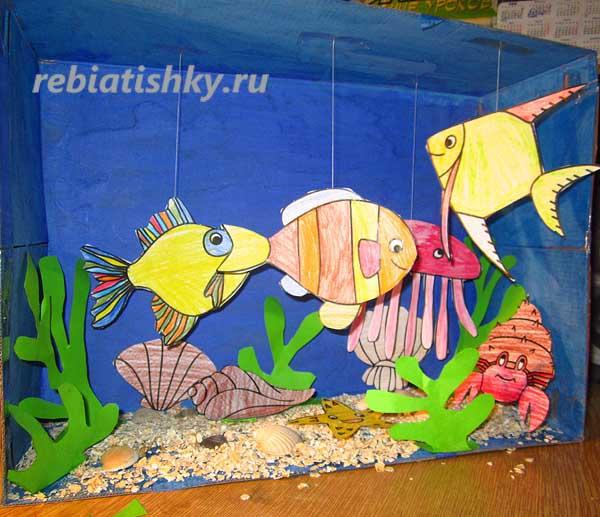 Рыбу своими руками в саду