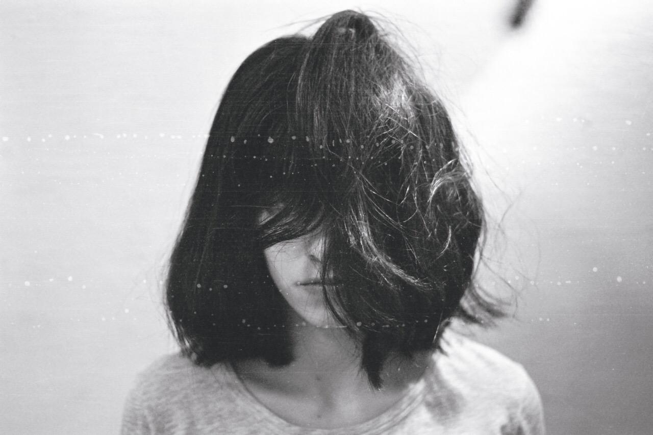 Девушки с короткими волосами без лица на аву