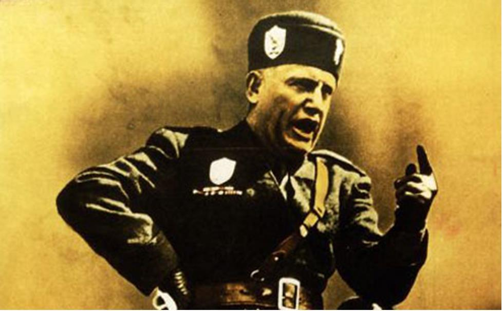mussolini and propaganda essay