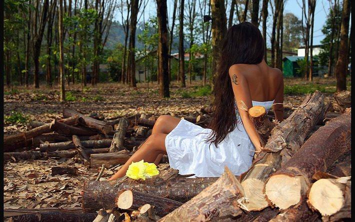 реальные фотосессии девушек на природе