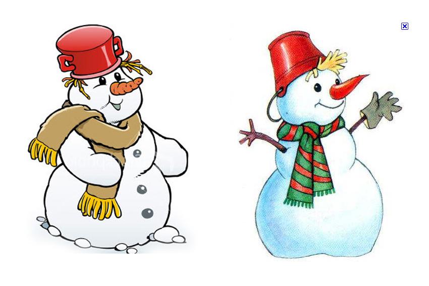 Новый год, снеговик картинки для детей