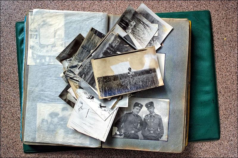 Фотоальбом из старых