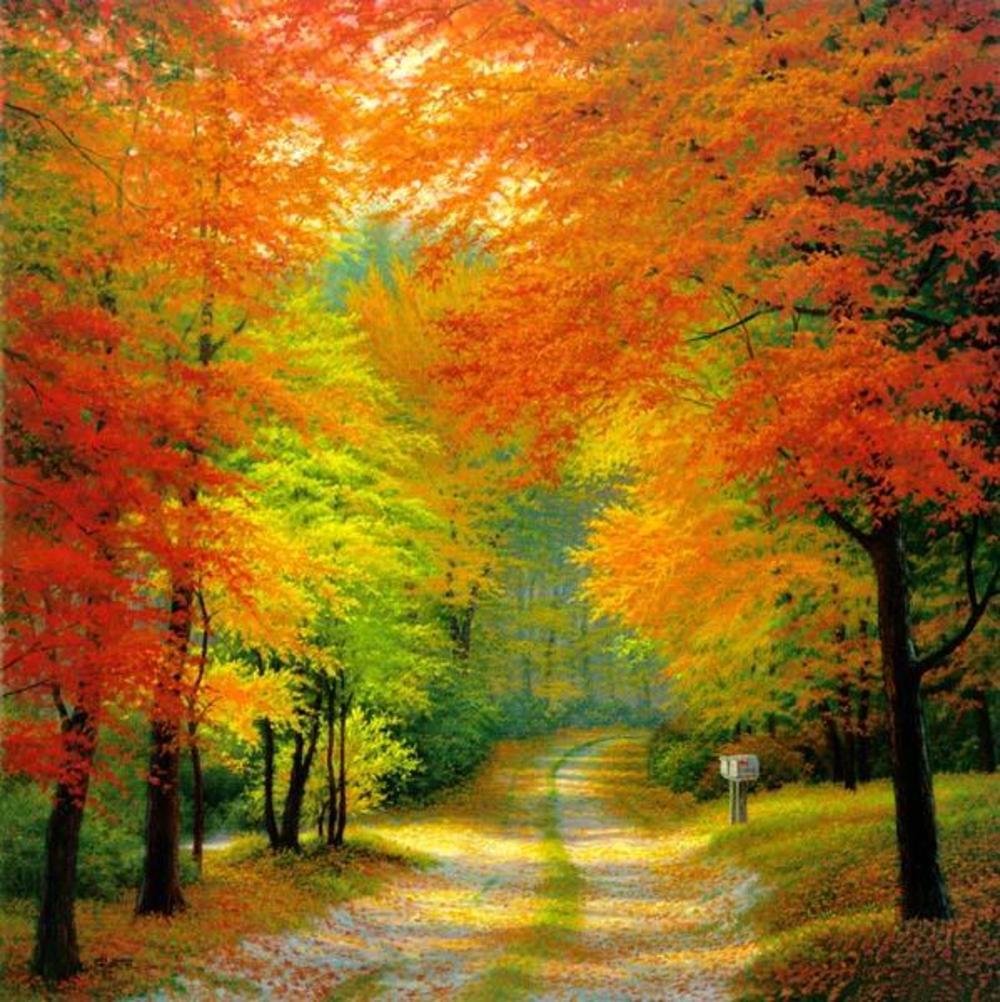 Картинка осень на виндовс фон готовые
