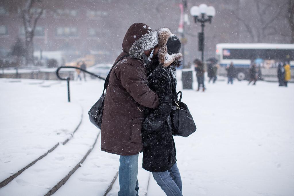 Зима знакомство город я