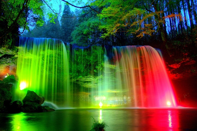 водопад картинки на рабочий стол № 521203  скачать