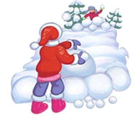 снежная крепость картинки рисунок организациях