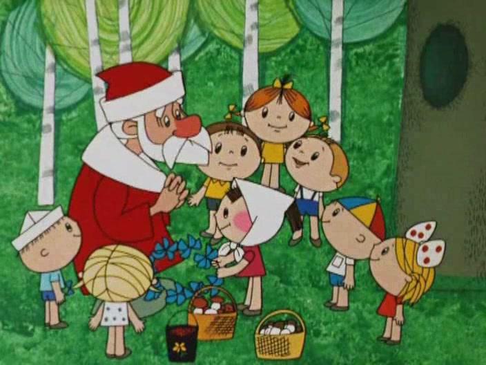 Детские песни про новый год минусовка скачать