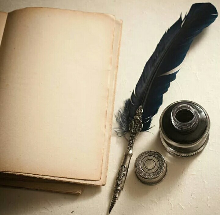 картинки перо ручка бумага для писателя заменить доску объявлений