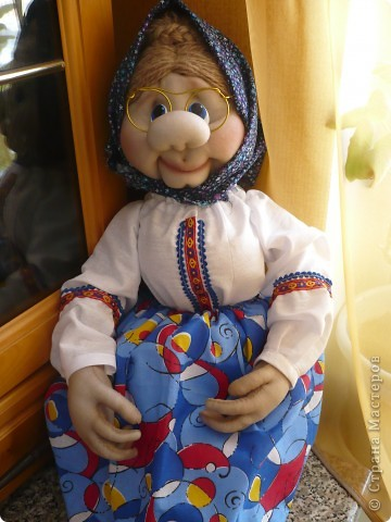 Как сделать куклу наших бабушек своими руками в домашних условиях
